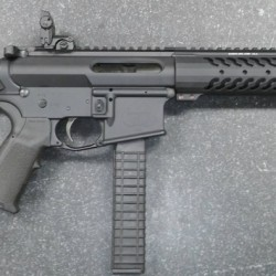 INTEGRALLY SUPPRESSED AR9/45 Rifle Length