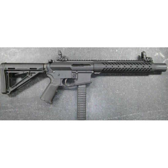 INTEGRALLY SUPPRESSED AR9/45 Rifle Length (Customer Supplied)