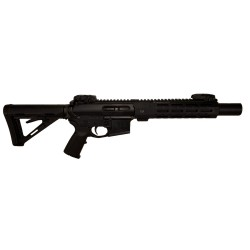 AR10 STANDARD CALIBER SBR/PISTOL INTEGRALLY SUPPRESSED UPPER RECEIVER