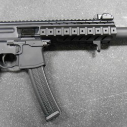 SIG MPX SBR/PISTOL INTEGRALLY SUPPRESSED